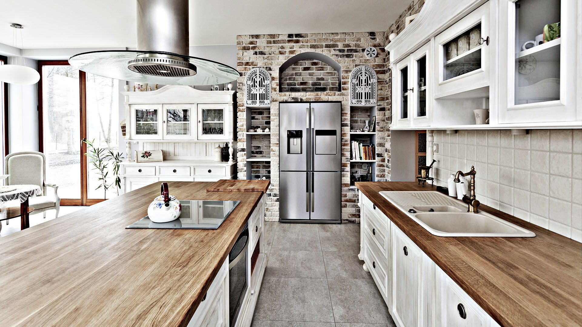 Spencer & Sons Construction Remodeled Kitchen 1