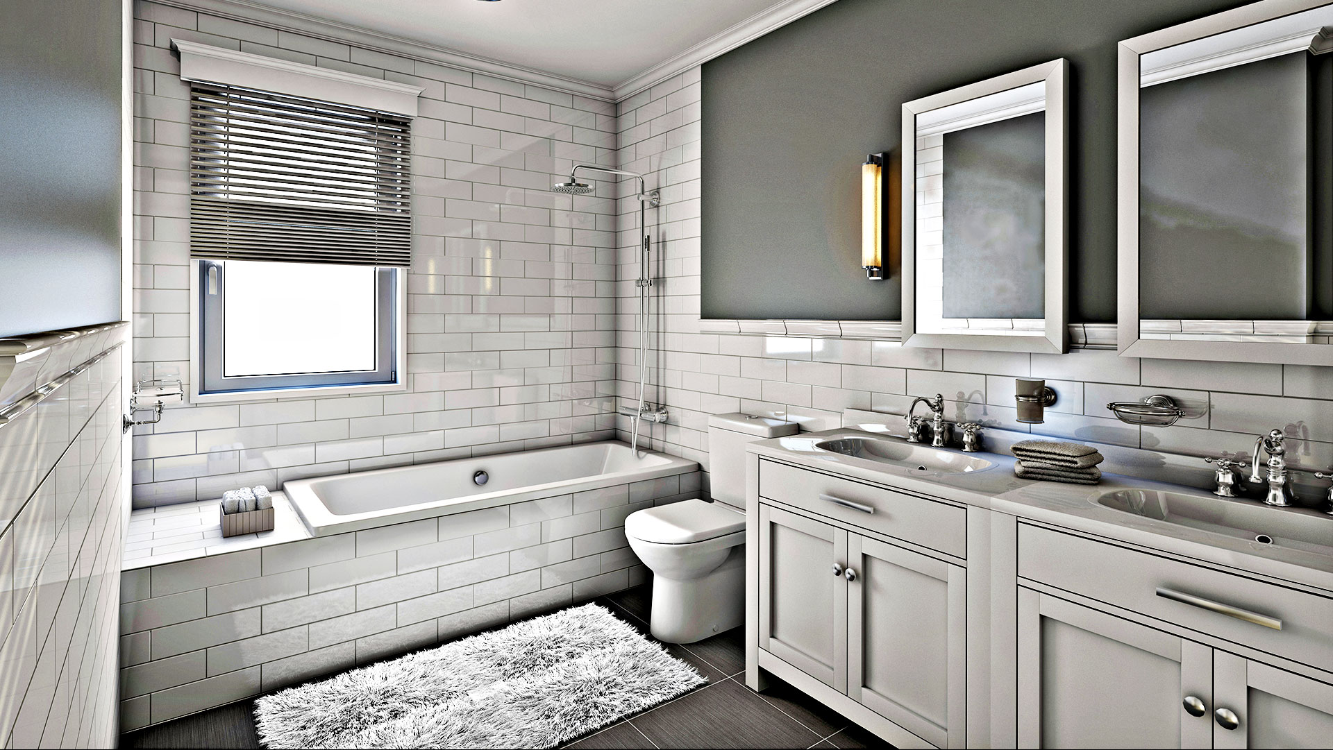 Spencer & Sons Construction Remodeled Bathroom